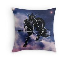 ES Birthsigns: The Warrior Throw Pillow