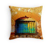 Behind bars Throw Pillow