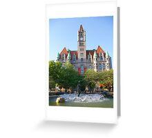 Landmark Center & Fountain Greeting Card