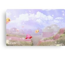 Bird Chase Today Canvas Print
