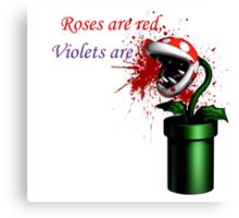 Love hurts Canvas Print