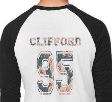 Clifford '95-floral Men's Baseball ¾ T-Shirt