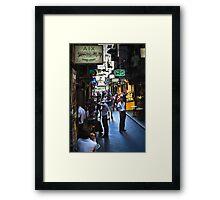 """""""Street Life """" Framed Print"""