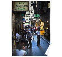 """Street Life "" Poster"