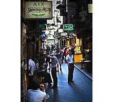 """Street Life "" Photographic Print"