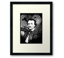 Edgar Allan Poe - Graveyard  Framed Print