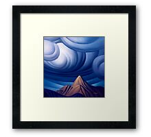 Imagination Peak Framed Print