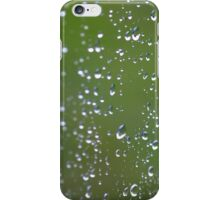 day 8: rain abstract iPhone Case/Skin