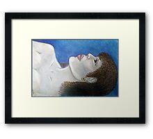 SHEARER. Framed Print