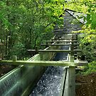 Cable Mill Flume by Lisa G. Putman