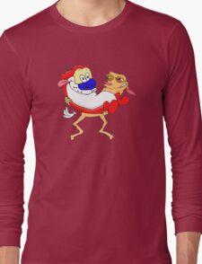 Modern Ren and Stimpy  Long Sleeve T-Shirt