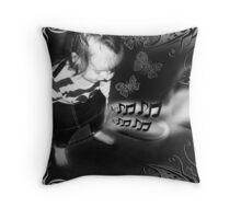 Rocker Girl Throw Pillow