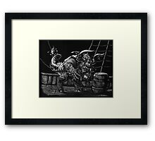 Pirate Beast Framed Print