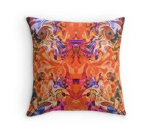 Passion in the Princess' Garden Throw Pillow