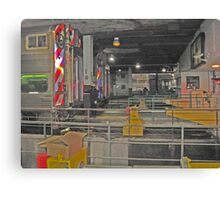 THE END - UNION STATION CHICAGO Canvas Print