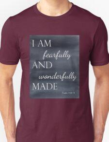 Psalm 139:14 Watercolor T-Shirt