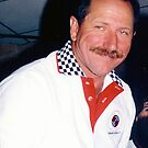 The Intimidator with no glasses by Bill Gamblin