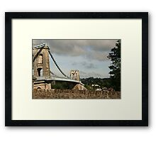 The Bridge I can't remember Framed Print