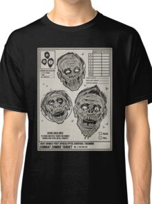 Zombie Combat Training Classic T-Shirt