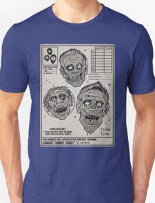 Zombie Combat Training Unisex T-Shirt