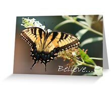 Believe... Greeting Card