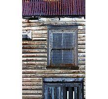 Derelict house Photographic Print