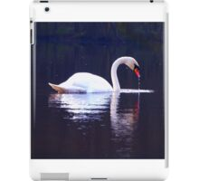 Mirrored swan iPad Case/Skin