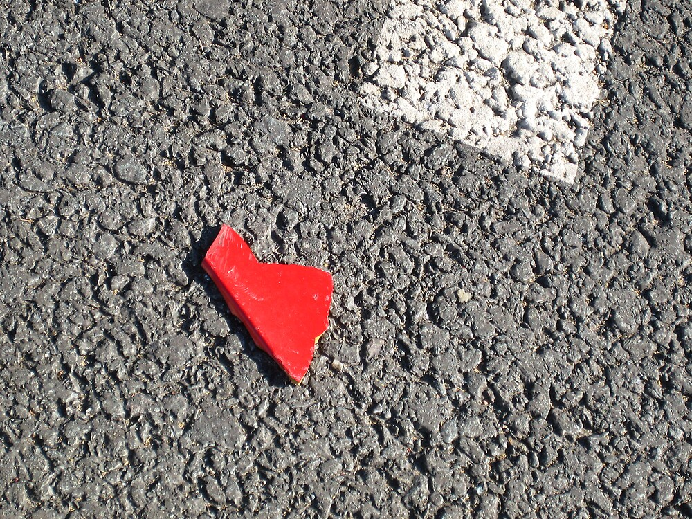 I left my heart on the street#1 by zoe trap