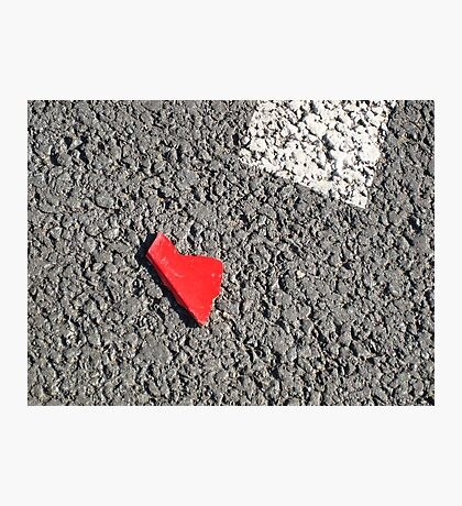 I left my heart on the street#1 Photographic Print