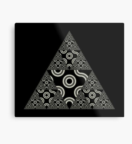 Sierpinski IV Metal Print
