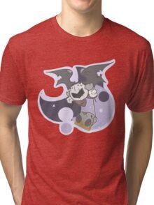 Kirby: Mirror world swings Tri-blend T-Shirt