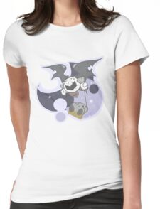 Kirby: Mirror world swings Womens Fitted T-Shirt