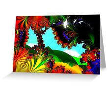Green Hills Greeting Card