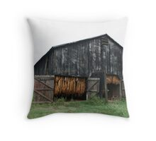 Hanging Tobacco Throw Pillow