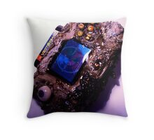 Photograph of my Microwaved Mutant Sega Nomad Throw Pillow