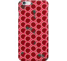 Red dots with flowers, chinese style iPhone Case/Skin