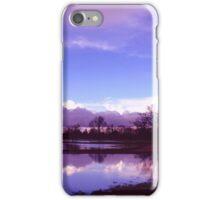 Majestic blue iPhone Case/Skin