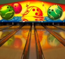 Bowling Alley by elainemarie999