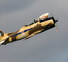 T28S Fennec Aircraft by Simon Hills