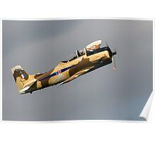 T28S Fennec Aircraft Poster