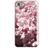 Pink Lilacs iPhone Case/Skin