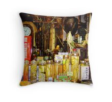 dont touch! Throw Pillow