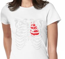 Music's In Your Bones Womens Fitted T-Shirt