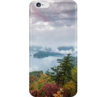 Lake Jocassee South Carolina Autumn Stormy Sky Overlook iPhone Case/Skin