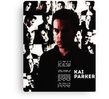 The Vampire Diaries - Kai Parker Canvas Print