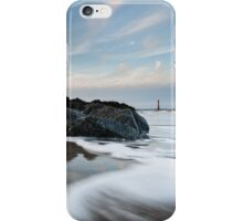 Morris Island Lighthouse Folly Beach Charleston South Carolina iPhone Case/Skin