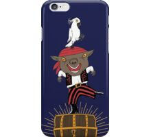 Pirate Happy Dance with Parrot iPhone Case/Skin