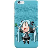 Ievan Polkka - Hatsune Miku iPhone Case/Skin