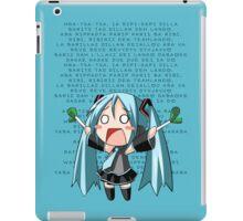 Ievan Polkka - Hatsune Miku iPad Case/Skin