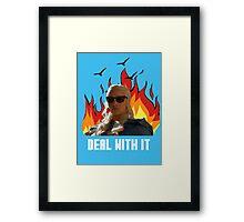 DaenerysTargaryen - Deal with it Framed Print